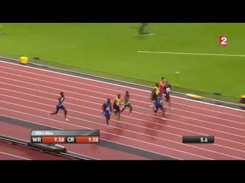 Justin Gatlin beats Usain Bold and wins 100m Final 9.92s | IAAF London 2017 thumbnail