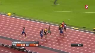 Justin Gatlin Beats Usain Bold And Wins 100m Final 9.92s | IAAF London 2017