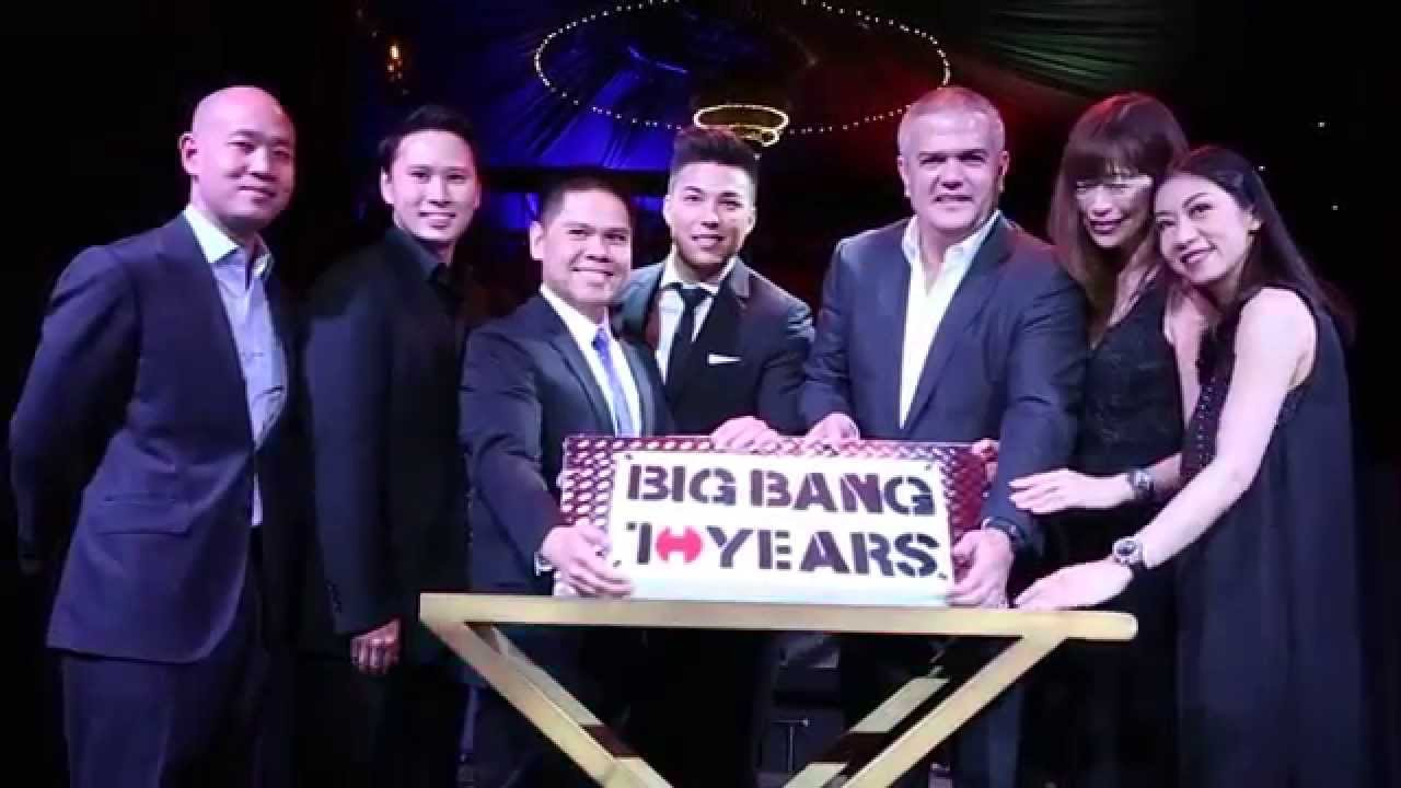HUBLOT CELEBRATES THE 10TH ANNIVERSARY OF THE BIG BANG COLLECTION IN BANGKOK