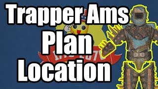 Fallout 76 - Trapper Arms Plan Location - Where to Find Trappers Arms Plan