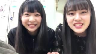 2017年4月20日のSHOWROOMより 今回の登場人物は浅井裕華ちゃんと竹内彩...