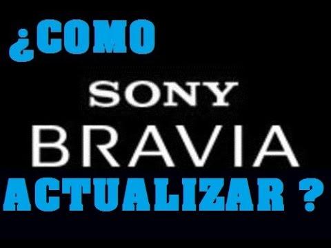 COMO Actualizar Una TELEVISIÓN SONY BRAVIA Modo Offline