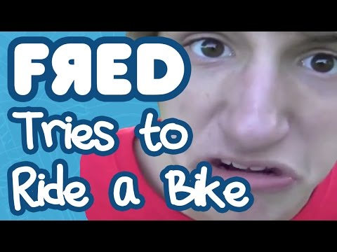 Fred Tries to Ride a Bike