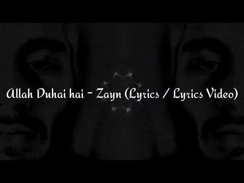 Zayn - Allah Duhai Hai (Cover) (Lyrics / Lyrics Video)