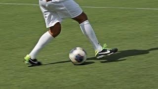 How to Do a Stepover aka Scissor   Soccer Skills