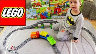 Видео обзоры LEGO Duplo Большой поезд