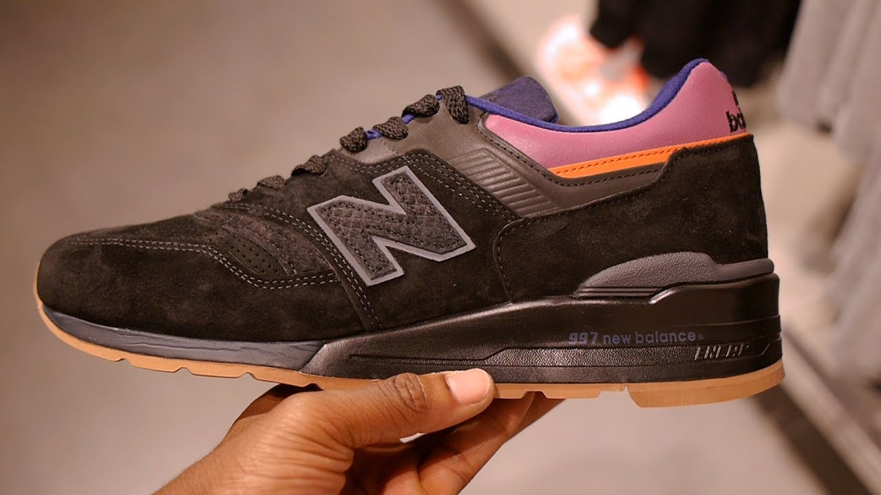 release date: 87606 9e194 New Balance 997 Quick Look & On Feet (Black - Desert Heat)
