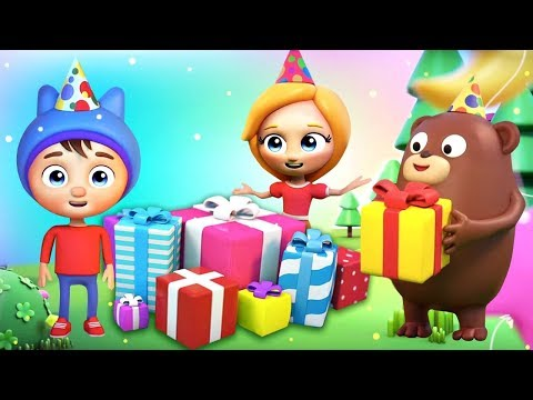 Новые детские хиты - Песенка про День Рождения - Мультики для детей Сина и Ло