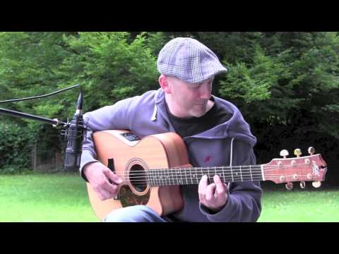Storm Wind  Acoustic Guitar Flatpicking Solo  Adam Rafferty
