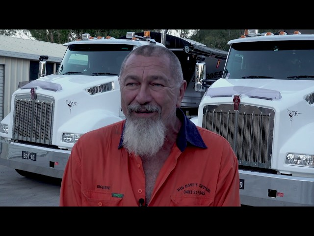 PACCAR Portraits - Big Dave's Tippers