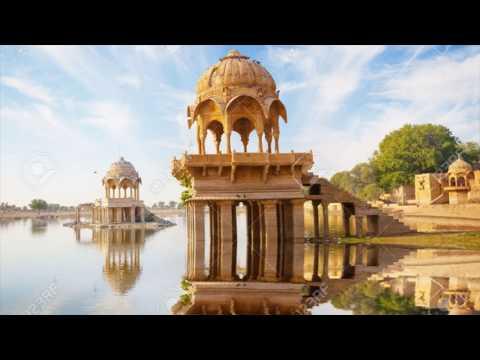 Gadsisar Sagar Lake, Jaisalmer, Rajasthan, India