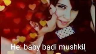 Itna tumhe chahna hai  songs by machine movie