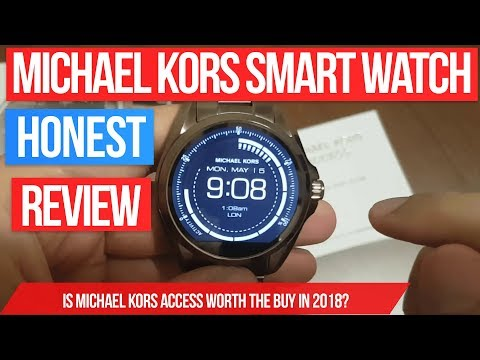 Michael Kors Access Bradshaw smart watch review - smartwatch in Rose Gold with android wear 2017