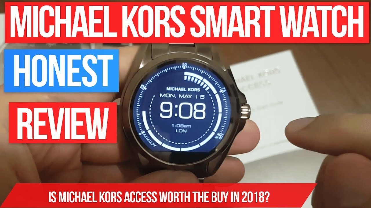 5f6e3eb5bc6e Michael Kors Access Bradshaw smart watch review - smartwatch in Rose Gold  with android wear 2017