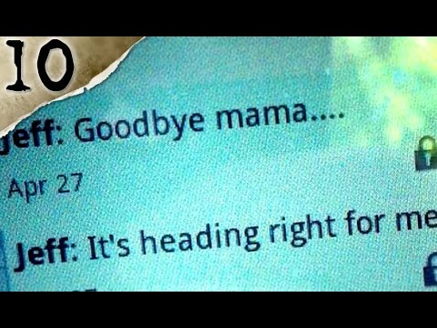10 Chilling Messages Sent Before DEATH | TWISTED TENS #8