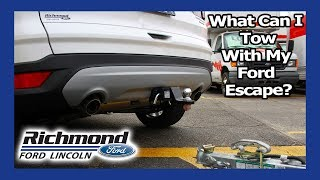 Ford Escape: Towing With Your Crossover