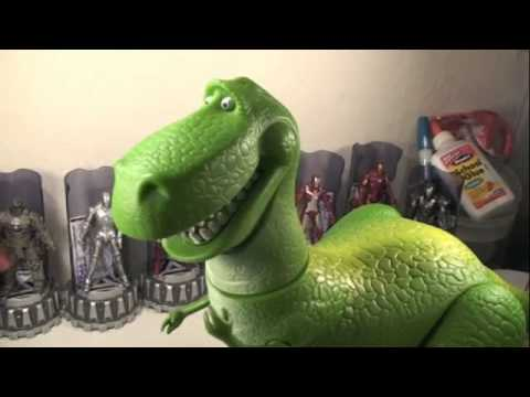 Toy story collection rex the roarr 39 n dinosaur talking movie toy review youtube - Dinosaure toy story ...