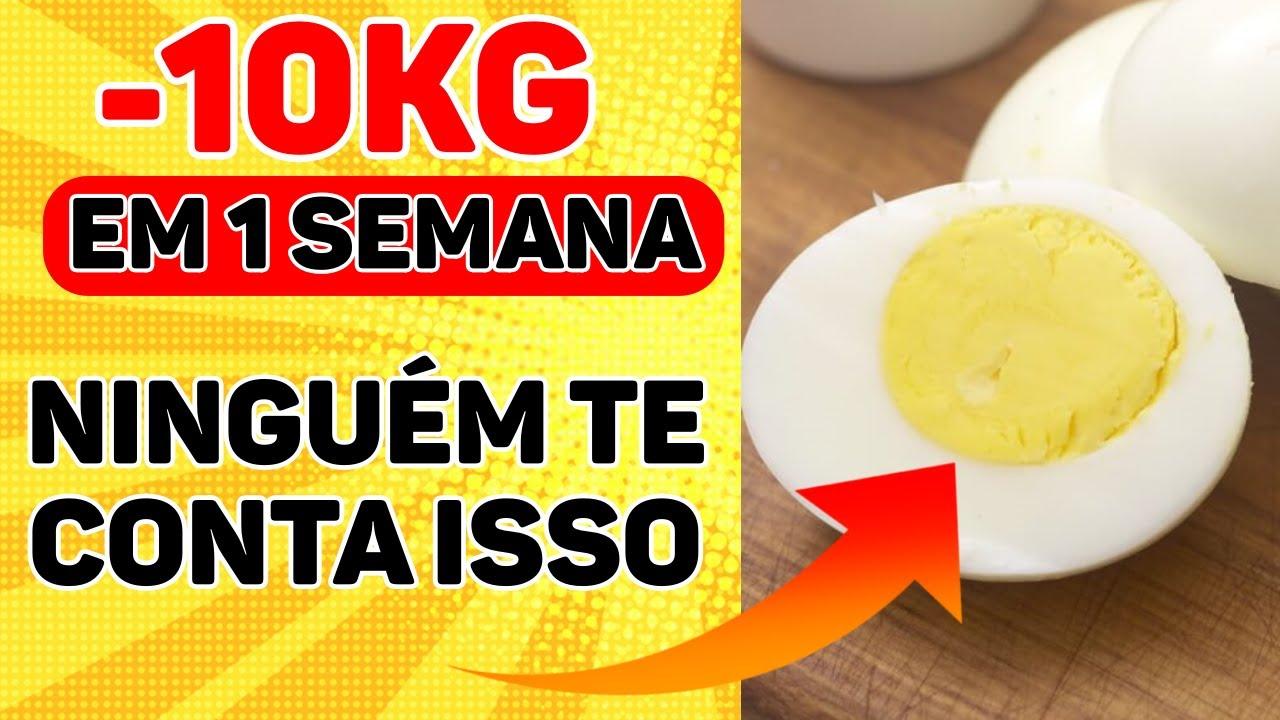 dieta do ovo cozido para emagrecer rapido