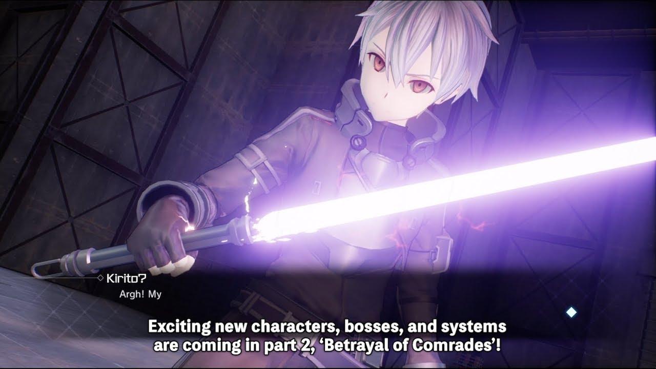 Sword Art Online: Fatal Bullet Betrayal of Comrades Trailer | PS4, XB1, PC