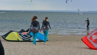 Kitesurfing w 1 dzień od zera do bohatera IKO 1 + 2 w Szkole WAKE.PL do skutku