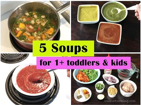 5 Immune-boosting Soups ( For 1+ Year Toddlers & Kids ) + Great Choice For Cold/cough/fever