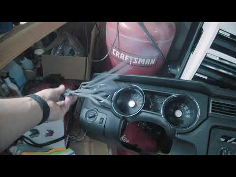 Mustang 2006 To 2014 Dash Swap Part 1