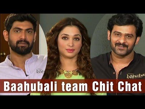 Baahubali, Ballaladeva, Avanthika  Special Chit Chat L Prabas L Rana L Tamannah