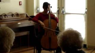 "(3) Bach-""Prelude"" (Largo and the first half of Allegro Moderato) from Suite No.5 for cello"