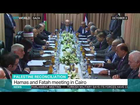 Palestinian negotiators meet in Cairo to settle Hamas and Fatah issues