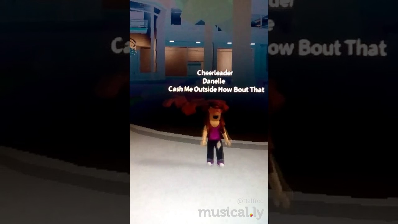 Cash Me Outside How Bout Dat Roblox Music Video Youtube