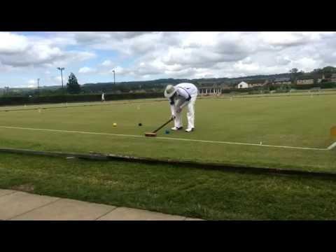 2016 British Open Final Ben Rothman vs. Samir Patel (Association Croquet)