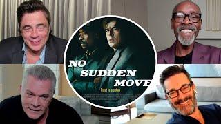 NO SUDDEN MOVE Cast Interview: Cheadle, Del Toro, Hamm, Liotta, Fraser, Harbour, Culkin and more!