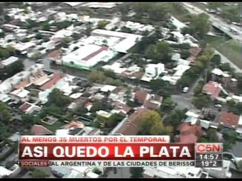 C5n Inundacion En La Plata Imagenes Aereas Youtube