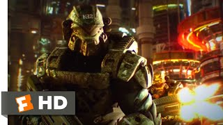 Starship Troopers: Invasion (2012) - Massive Bug Attack Scene (4/10) | Movieclips