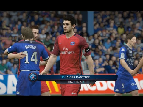 [HD] PSG vs Bastia Ligue 1 12/08/2016 Fifa 16