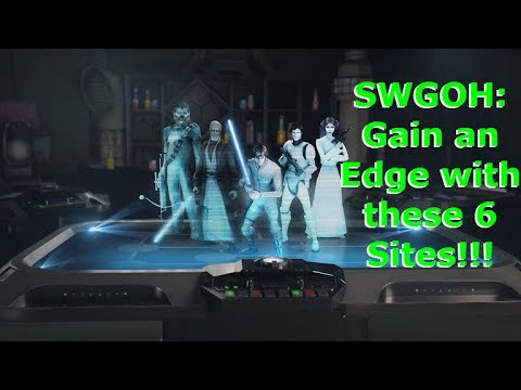 SWGOH - Use These 6 Sites to Improve Your Game