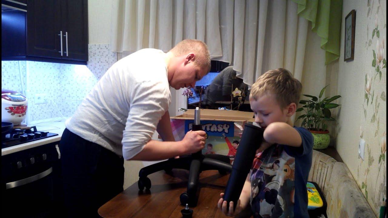 Детское ортопедическое кресло Match - YouTube