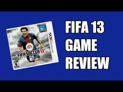 FIFA 13 Nintendo 3DS Gameplay