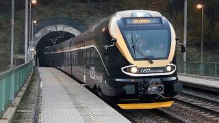 Spojené EJ 480.003 a 480.004 společnosti LEO Express / výluka SŽDC   viz komentář