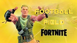 Fortnite Create a football field