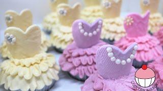 Ballerina Cupcakes - Make Ballet Tutu Cupcakes with Cupcake Addiction