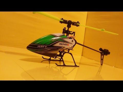 Вертолет на радиоуправлении Hisky HCP100S
