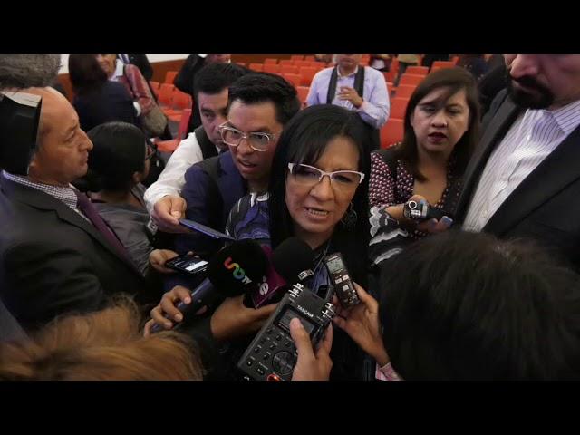 Entrevista a Ombudsperson capitalina, Nashieli Ramírez, al finalizar el Informe Anual 2018