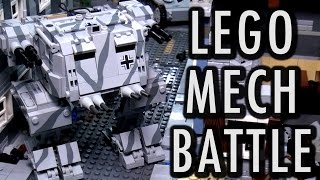 LEGO WWII Mech Military Battle | Brickworld Chicago 2016