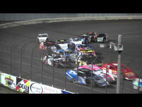 2015 Shiverfest Modified feature Lee County Speedway 10/24/15