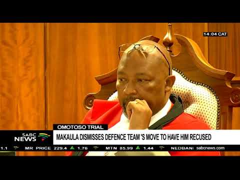 Makaula dismisses Omotoso's defence team application: Ulrich Roux