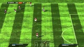 FIFA 11 Gameplay (PC) - Barcelona vs AC Milan [1st Half]