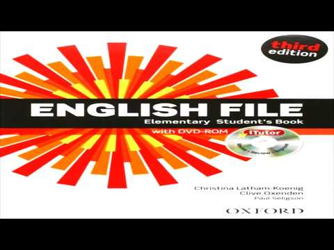 English File Elementary Third Edition - Unit 1 (1.31-1.42)