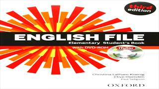 English File Elementary Third Edition Unit 1 1 31 1 42