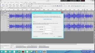 Уроки по Audacity #1 - Удаление шума
